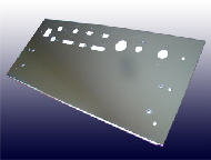 Electro-Polished Stainless Steel Front Panel
